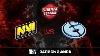 Natus Vincere vs Evil Geniuses, DreamLeague Season 8, game 1 [Godhunt, Dead_Angel]