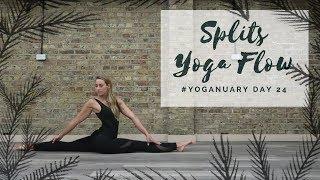 Video DAY 24: HOW TO DO THE SPLITS | Yoganuary Yoga Challenge | CAT M MP3, 3GP, MP4, WEBM, AVI, FLV Maret 2018