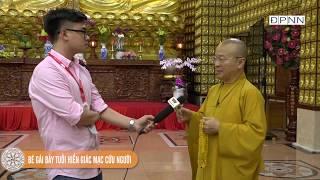 TT. Thích Nhật Từ trả lời phỏng vấn Đài Truyền hình Việt Nam về hiến tạng, hiến xác cho y học