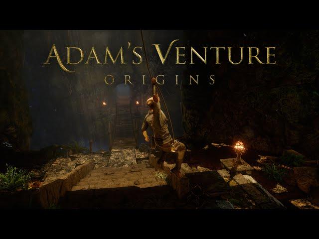 Видео к игре Adams Venture Origins