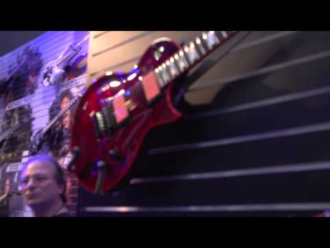 NAMM 2015 - ESP Signature Models