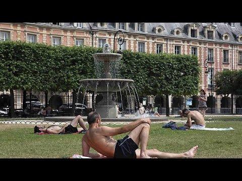 Καύσωνας πλήττει την Ευρώπη