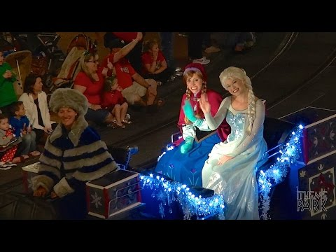 Mickey's Once Upon A Christmastime Parade during Mickey's Very Merry Christmas Party Disney World