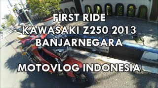 Banjarnegara Indonesia  City new picture : #32 - FIRST RIDE KAWASAKI Z250 punya Ivw Motovlog di Banjarnegara | MOTOVLOG INDONESIA