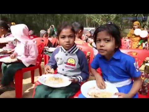 バングラデシュの子に学校贈る 現地で開校式