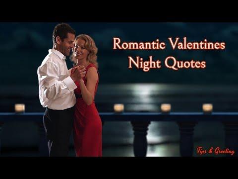 Romantic quotes - Romantic Valentine Night Quotes  Beautiful Quotes For Love