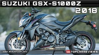 2. 2018 SUZUKI GSX-S1000Z Review Rendered Price Specs Release Date