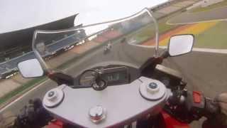 9. Hockenheimring 20.06.2013, Onboard Hyosung GT 650 R