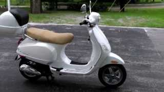 6. 2006 Vespa LX150 White at Euro Cycles of Tampa Bay