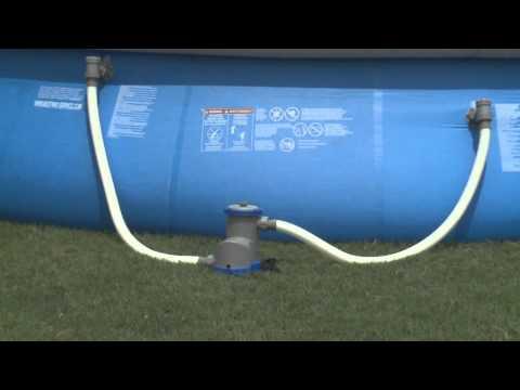 Montaggio accessori per la manutenzione delle piscine Bestway, Intex, San Marco e Gre | San Marco