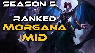 Playing Morgana in a ranked game on my Platinum 3 smurf! Links to Runes & Masteries + Social Media: Runes: http://bit.ly/1IFQ4E6 Masteries: http://bit.ly/1Ad...