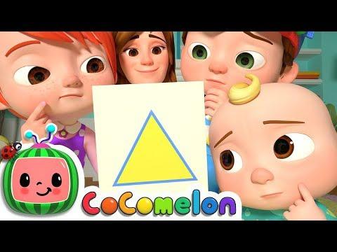 Shape Song   CoComelon Nursery Rhymes & Kids Songs