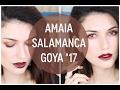 Maquillaje inspirado en Amaia Salamanca en los Goya 2017