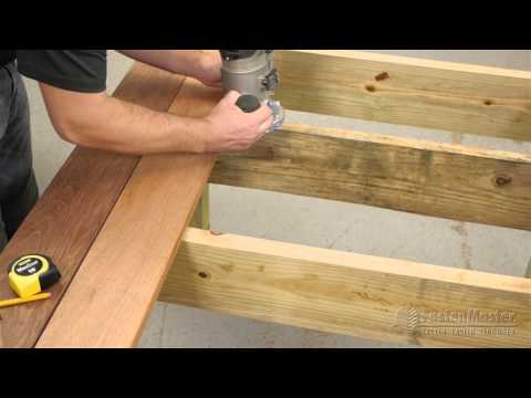 TigerClaw Slot Cutters – How to Groove a Square Edge Deck Board