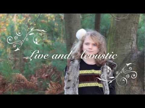 Sapphire Singing Last Christmas - 8 years old - Live and Acoustic - Wham