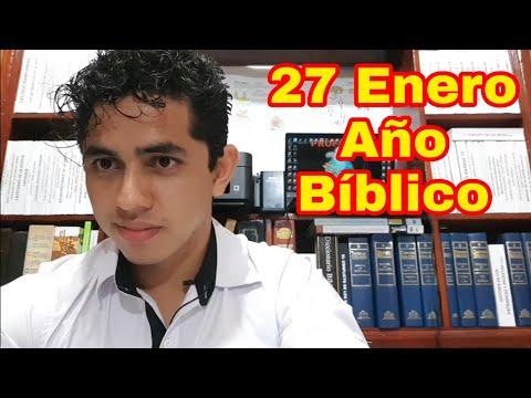 JOB 38, 39, 40, 41 y 42 AÑO BÍBLICO (Nelson Berrú) 27 De Enero