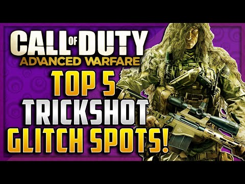 sniper - The Top 5 Sniper Trickshot Glitch Spots! Can we get 2000 Likes? ▻ Subscribe To My Channel: http://www.youtube.com/user/OGZxFTW ▻ Subscribe To My Music Channel: ...