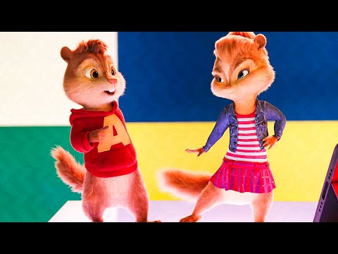Juicy Wiggle Song Scene - ALVIN AND THE CHIPMUNKS 4 (2015) Movie Clip