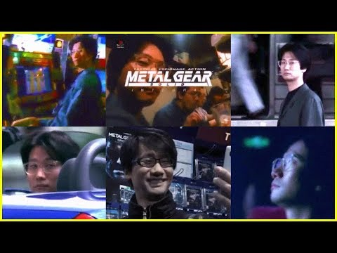 A Hideo Kojima Commercial (Japanese MGS TVCMs Remastered)