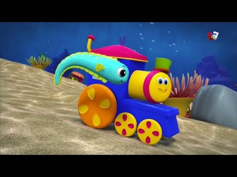 bob kereta Dunia Laut yang Indah lagu pendidikan Nursery Rhymes Bob Wonderful World Of The Sea