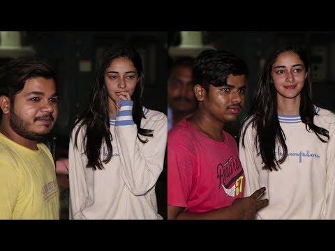 Chunkey Pandey's daughter Ananya Pandey Looks Nerv