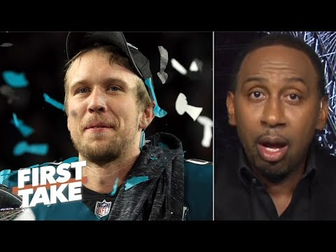 Video: Nick Foles will be a bigger Philly legend than Carson Wentz - Stephen A. | First Take
