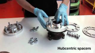 2. Wheel Spacers explained - from Driftworks