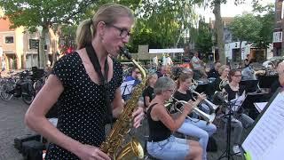 El Artiste Saxofonico op het Spui