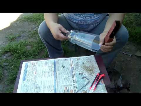 Как сделать станок для нарезки бутылок