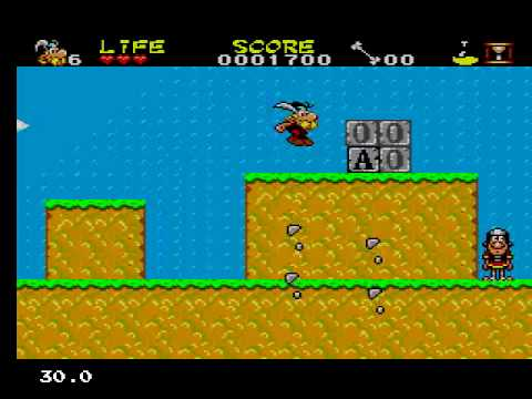 asterix and the secret mission sega master system rom