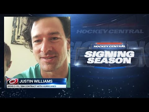 Video: Williams cites family comfort as one reason to return to Carolina