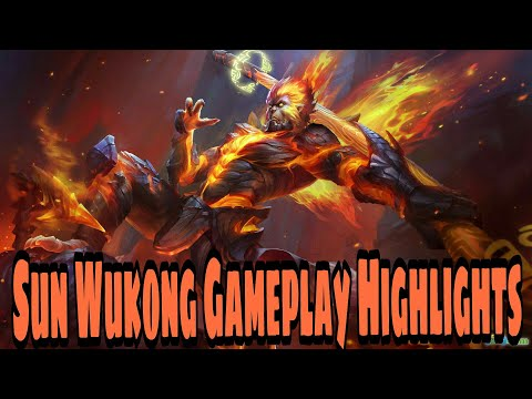 King of Glory(王者荣耀) Sun Wukong Gameplay Highlights
