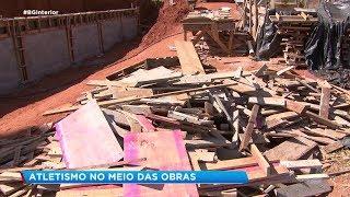 Mesmo em obras, Milagrão em Bauru sedia campeonato e coloca pessoas em risco
