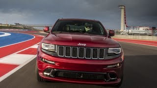 2014 Jeep Grand Cherokee SRT tears up the Formula 1 Race Track in Austin, TX: Jeep week video # 3