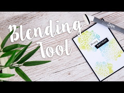 How to Use the Blending Tool - Sizzix
