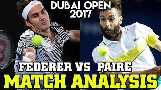 Federer vs Paire 2017 Dubai Open Match Analysis. Roger Federer just played his first match since winning the 2017 Australian Open. If you love Fed good news ...
