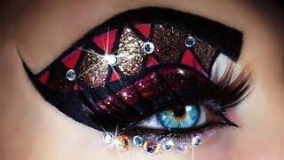 Carnival - Mardi Gras Makeup Tutorial (trucco Carnevale) 4k OLED - YouTube