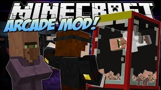 Minecraft | ARCADE MOD! (Claw Machines, Prizes&More!) | Mod Showcase