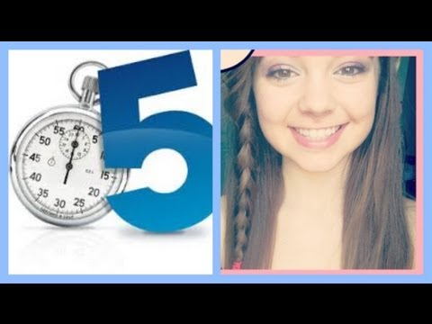 5 minute - Lets watch me put on makeup in five minutes.. how did I do?? ;) When do you guys get out of school? Leave me a comment! Music by www.audiomicro.com & Scott &...