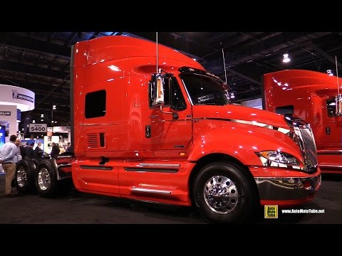 "2016 International Prostar ES N13 73"" Hi Rise Seleeper Truck - Exterior And Cabin Walkaround"