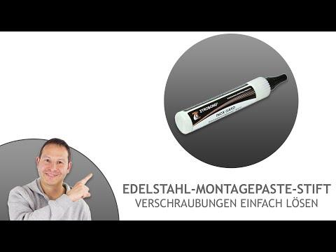 Edelstahl-Montagepaste-Stift - Verschraubungen einfach lösen