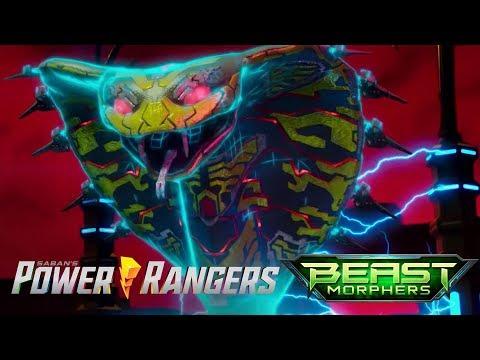 Blaze and Roxy in the Cyber Dimension | Beast Morphers E02 Evox's Revenge | Power Rangers Official