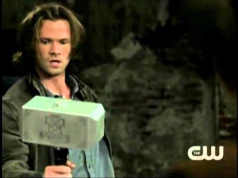 Video Supernatural: Sam Uses Thor's Hammer download in MP3, 3GP, MP4, WEBM, AVI, FLV January 2017