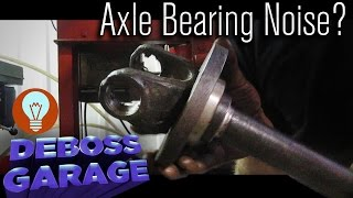 7. How To Replace A Front Axle Bearing & Seal on a 4WD Case IH (Part 2)