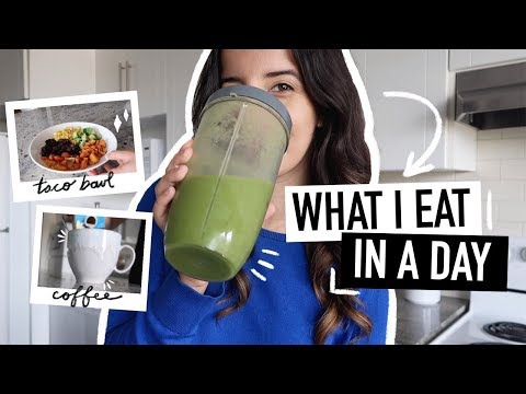 WHAT I EAT IN A DAY 🥑easy + Healthy-ish Summer Recipes