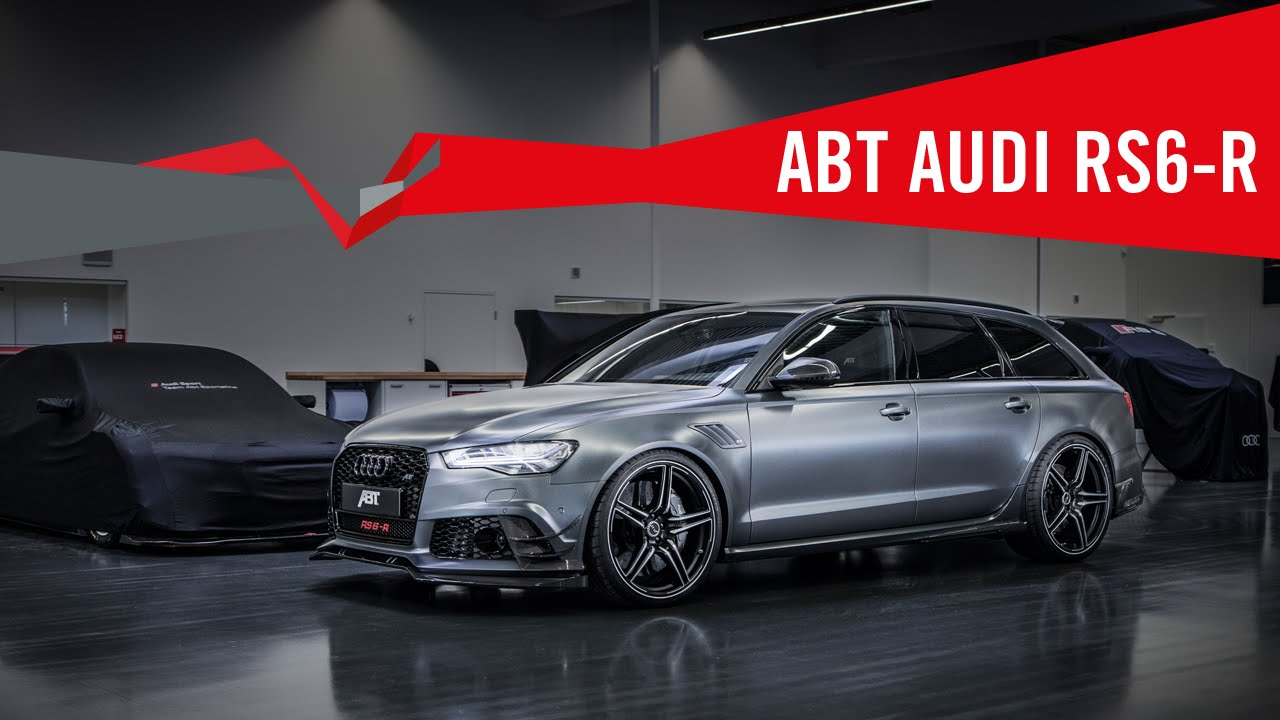ABT RS6-R 730 PS (HP) / 920 NM / 0-100 km/h 3,3 sec