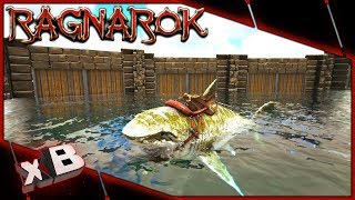 MEGA MEGALODON TAME & WATER PEN! :: ARK: Ragnarok Evolved :: Ep 47