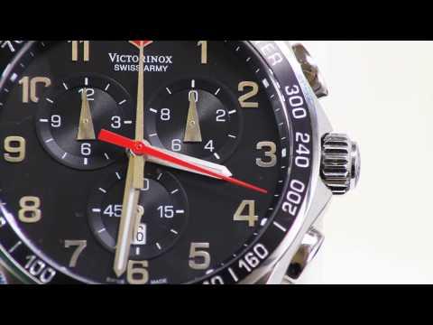 Victorinox Swiss Army 241199 Chronograph Split-Timer Watch at ChronoShark