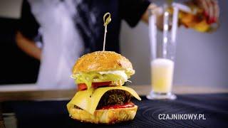 Przepis na wegetariańskie burgery z Yerba mate i herbatą. Kanał SAUTE.pl https://www.youtube.com/user/sautepl?sub_confirmation=1 Portal i sklep z herbatą htt...
