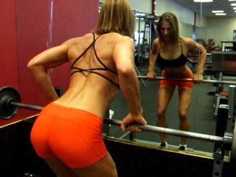 Fitness Tips with Chrissy Zmijewski: Barbell Bent Over Row